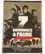 7 Hommes A L'Aube (Operation Daybreak) 1975 Poster Timothy Bottoms, French - $44.45