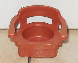 Vintage Fisher Price Little People Brown Captins Chair FPLP 729 933 938 ... - $5.90