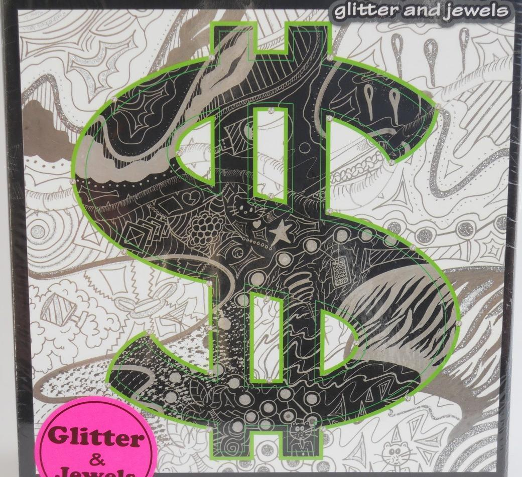 Primary image for Crook Couture ~ New ~ Dollar ~ 1000 pc Puzzle w/ Glitter by Heather Lee Fazzino