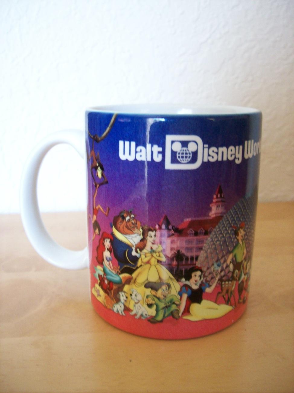 "Walt Disney World ""Grandma"" Souvenir Coffee Mug"