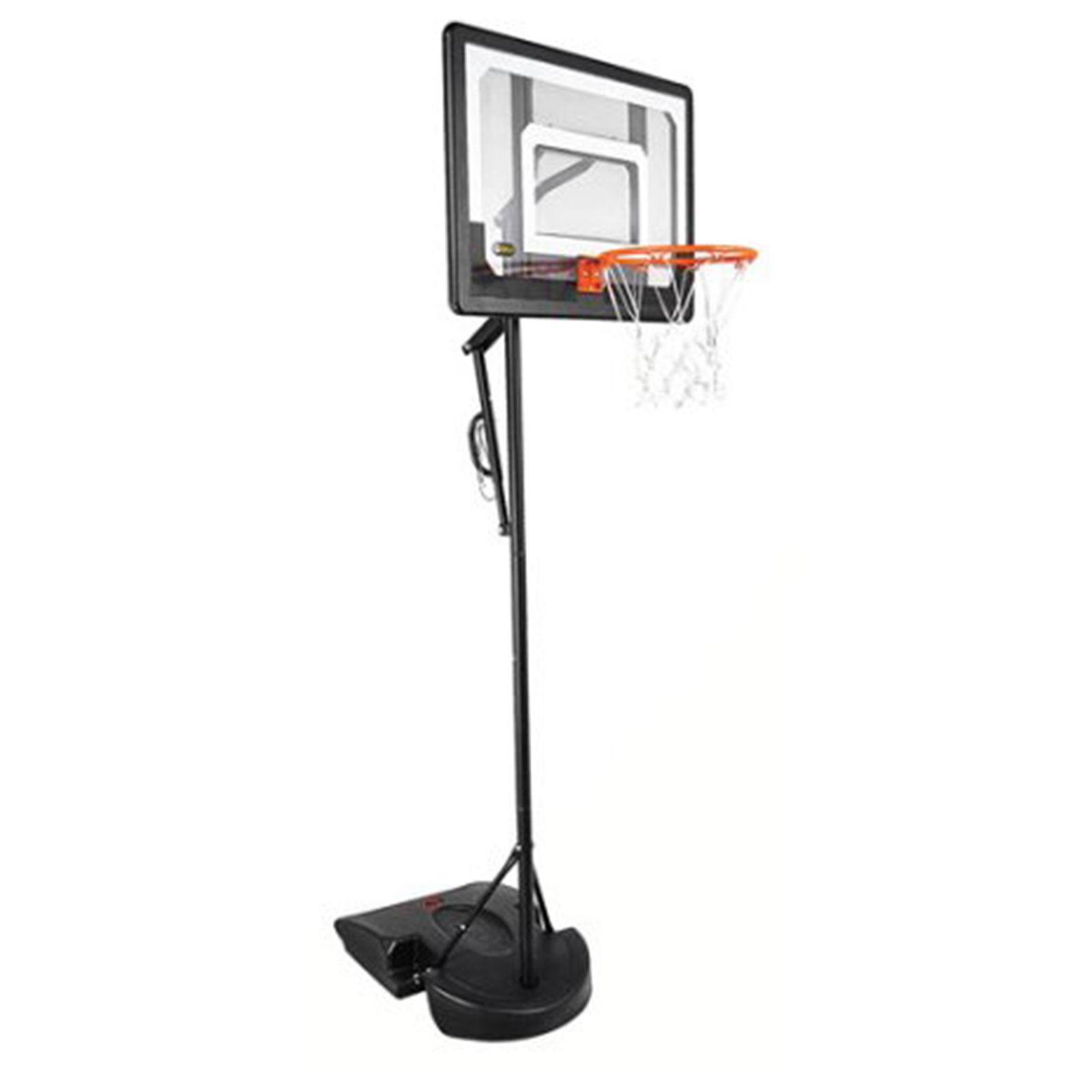 portable basketball system adjustable pro outdoor hoop rim. Black Bedroom Furniture Sets. Home Design Ideas