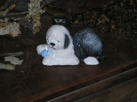 Old English Sheepdog From Hevener Figurines - $35.00