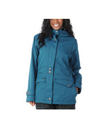 Empyre Nomad Jacket Womens Snowboard Ski 10k Waterproof Insulated Denim ... - $94.71