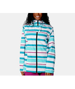 Empyre Open Air Jacket Womens Snowboard Ski Waterproof Stripe L - $102.96