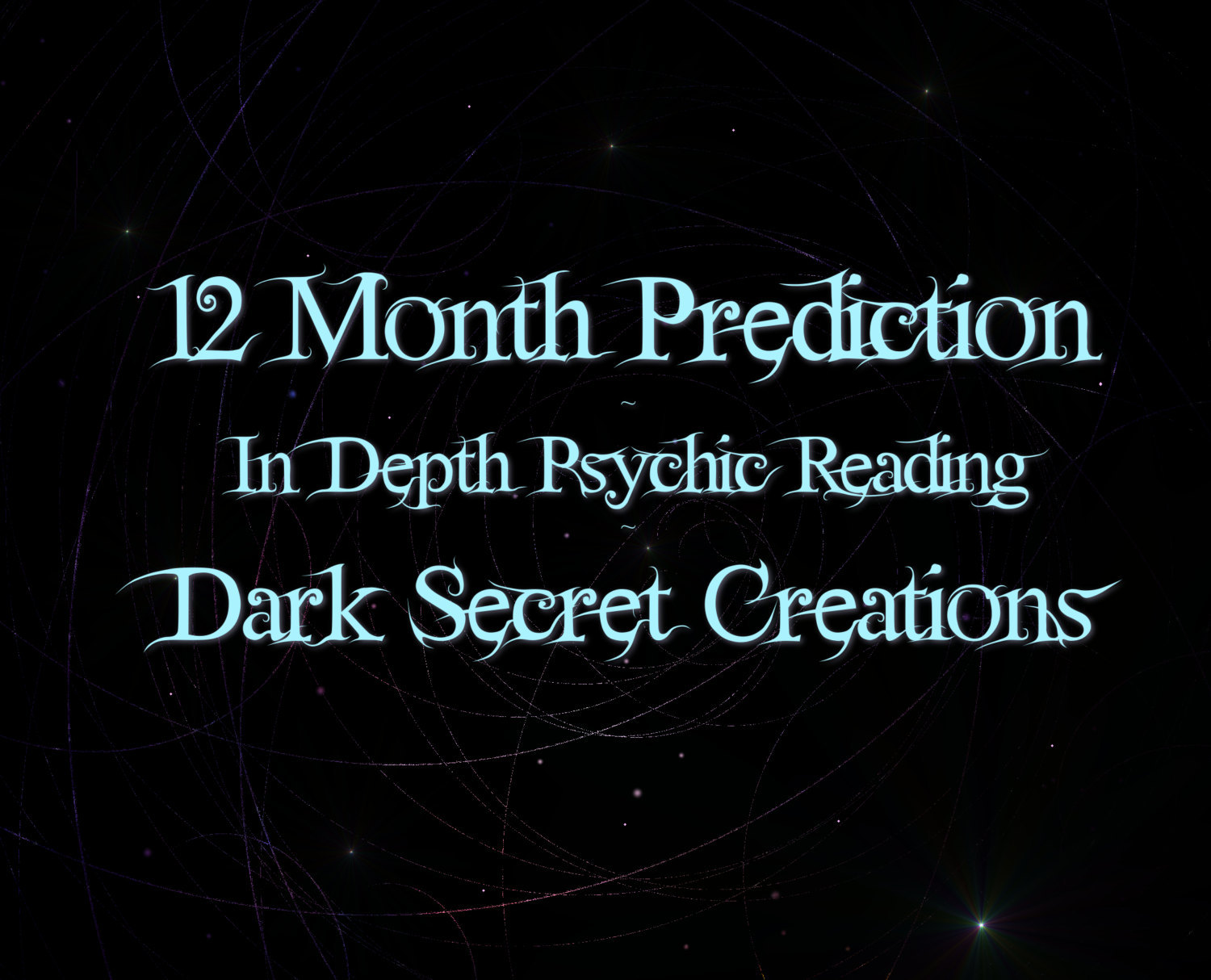 12  Month Prediction, In Depth Psychic Reading, One Year Reading Sent Via PDF