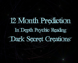 12  Month Prediction, In Depth Psychic Reading,... - $30.00