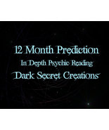 12  Month Prediction, In Depth Psychic Reading, One Year Reading Sent Vi... - $30.00