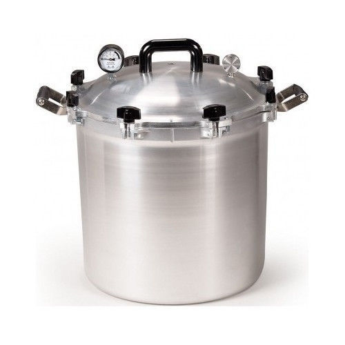 All American Pressure Cooker Canner 41.5  Quart Best Heavy Duty Canning Cookers