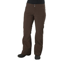 North Face STH Pants Womens Softshell Waterproof Insulated Ski Brown L - $101.31