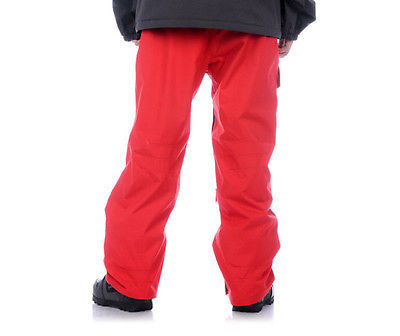 Aperture Definition Pants Ski Snowboard 10k Waterproof Mens Red XL image 2