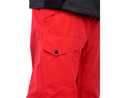 Aperture Definition Pants Ski Snowboard 10k Waterproof Mens Red XL image 3