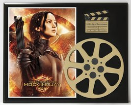 HUNGER GAMES MOCKING JAY LTD EDITION MOVIE REEL DISPLAY - $66.45