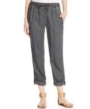 Calvin Klein Jeans Cropped Tencel Jogger Pants, Storm Gray Wash, size L, NWT - $58.50