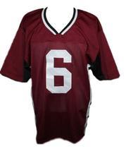 Matt Donovan Vampire Diaries New Men Football Jersey Maroon Any Size image 1