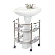 Bathroom Organizer Storage Holder Portable 2 Sh... - $63.53