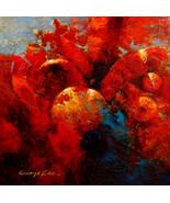 "Red Star by Kanayo Ede. Giclee print on canvas. 24"" x  24"" - $155.00+"
