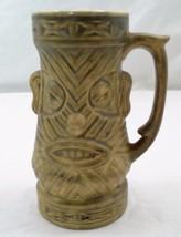 "1960s Westwood Ceramic 6.75"" T Tribal Chewbacca Fierce Tiki Mug Grog Cup... - $16.88"
