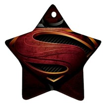 Star Ornaments - Batman Vs Superman Star Procelain Ornaments Christmas  - $3.99