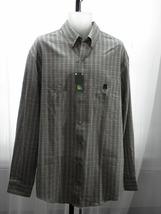 Arrow Long Sleeve Cotton Blend Checks Multi Color Button Front Dress Shi... - $19.99