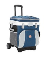 Rolling Cooler On Wheels W Handle Pull 36 Can I... - $79.15