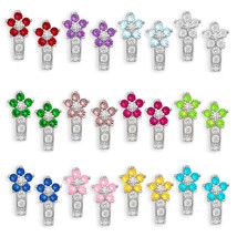 Women/Children 14K White Gold 12 Month Birthstones Flower Leverback Drop... - $114.64