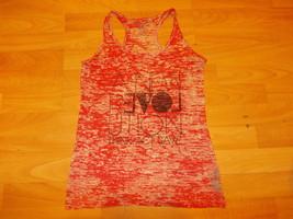 Forever 21 red white sleeveless tank top shirt Womens fashion tank top shirt M - $15.67