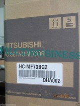 new HC-MF73BG2 Mitsubishi servo motor 90 days warranty - $1,290.10