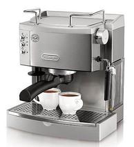 Brand New DeLonghi EC702 15-Bar-Pump Espresso Maker (Metallic)  - $368.56