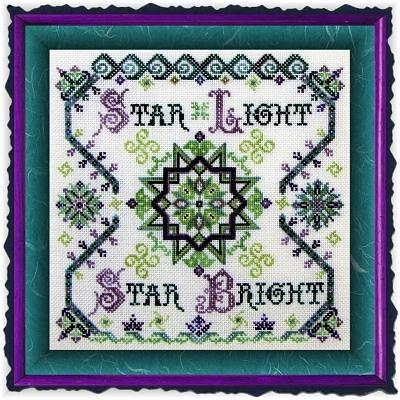 SILK FLOSS PACK forTwilight Star Light cross stitch chart Dinky Dyes