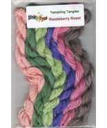 SILK FLOSS PACK for Razzleberry Roast cross stitch chart Dinky Dyes - $24.30