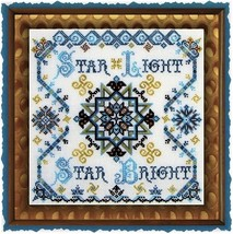 Daybreak Star Bright cross stitch chart Tempting Tangles - $12.60