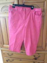 woman's pink shorts by ruby rd favorites size 18 - $24.99