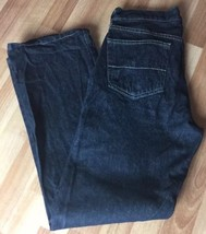 Faded Glory Dark Wash Relaxed Fit Mens Jeans Size 30 X 30 - $11.22