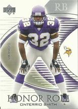 2003 Upper Deck Honor Roll #23 Onterrio Smith RC  - $0.50