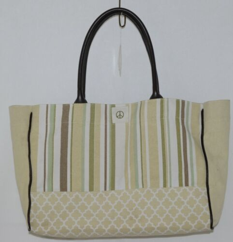 Grasslands Road Baby Its You Product Number 462441 Large Canvas Tote Stripped