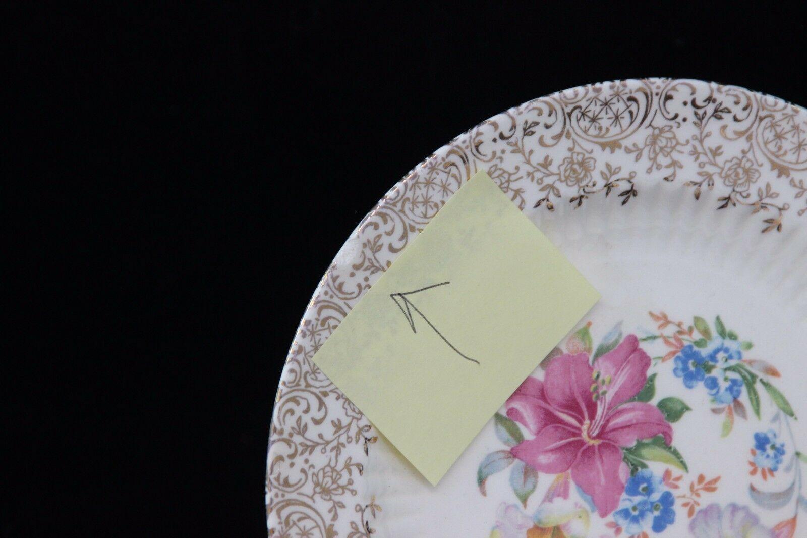 "Sebring Robin Hood Salad Dessert Plates 6-1/4"" Set of 4 + 2 image 2"