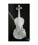 Student Acoustic Violin Full 4/4 Maple Spruce with Case Bow Rosin White ... - $53.99