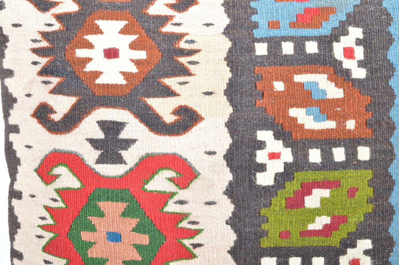 kilim pillow 16x16inc kilim Cushion Cover,Ethnic Anatolian Kilim  Pillow 40x40cm
