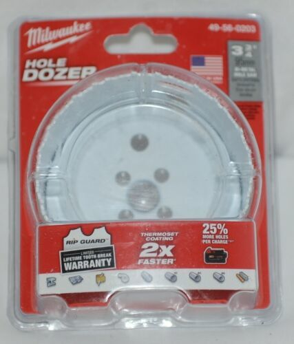 Milwaukee Product Number 49560203 Bi Metal Hole Saw Hole Dozer