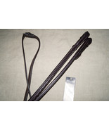 "Bobby's Signature F/S 5/8"" x 54"" Havana Raised Fancy Stitch Laced Reins - $81.00"