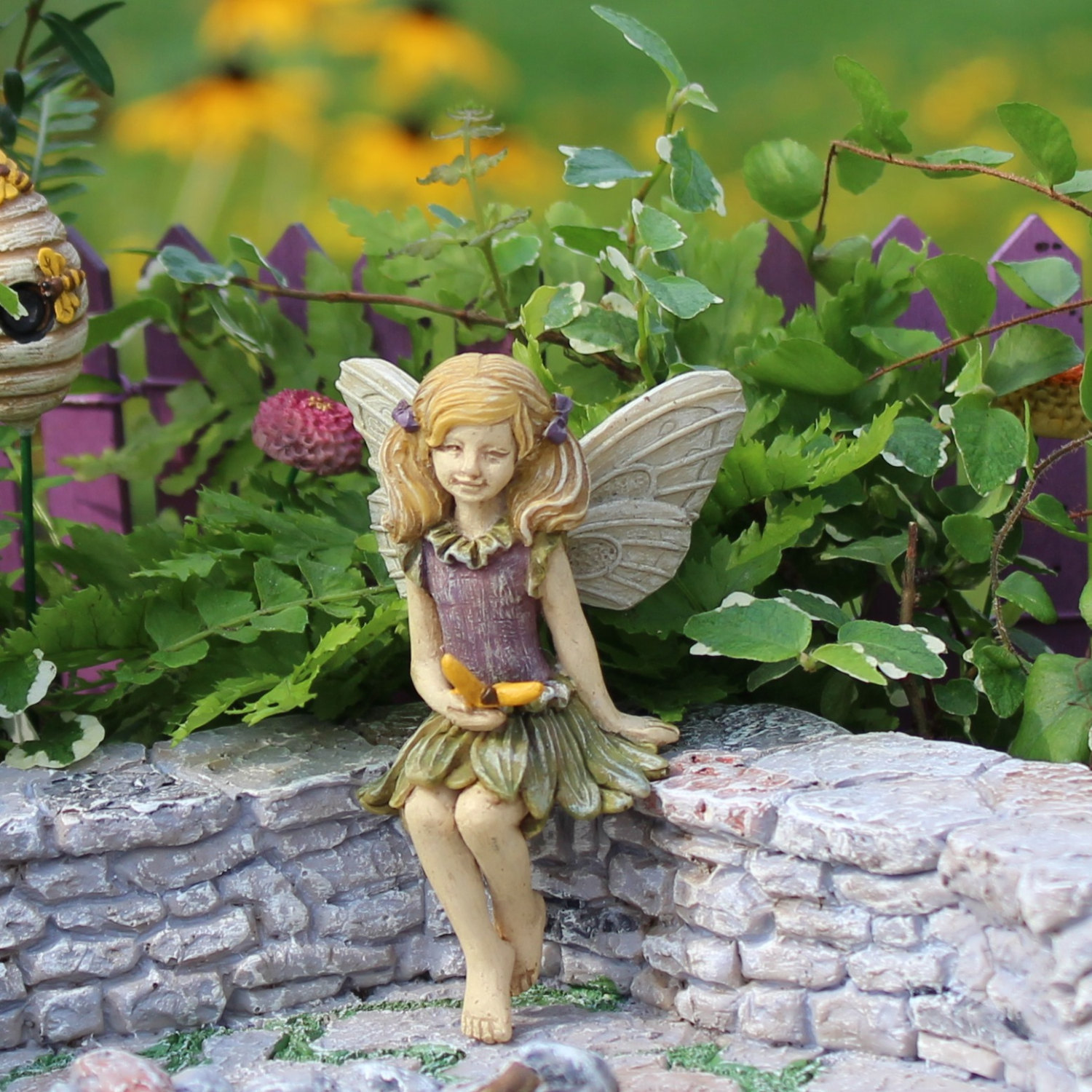 Fairy figurine fairy garden supplies fairy garden Small garden fairies