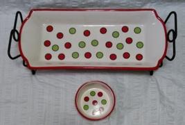 Celebrating Home Stoneware Collection - Christmas Sparkle - 3 Piece Set - £33.34 GBP