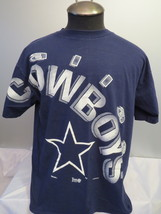 Dallas Cowboys Shirt (VTG) -Front Big Script Graphic -By Starter - Men's... - $65.00