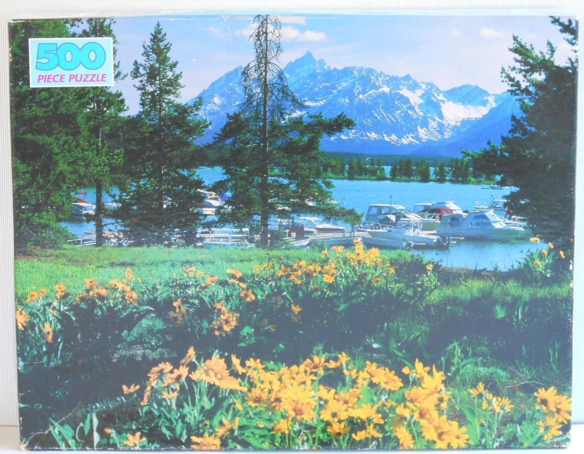 Primary image for Golden ~ COLTER BAY WYOMING ~ 500 pc Puzzle ~ New Sealed