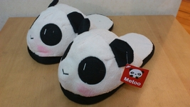 """Metoo Panda Style (2)  Cosplay Adult Women Plush Rave Shoes Slippers 10"""" - £6.99 GBP"""