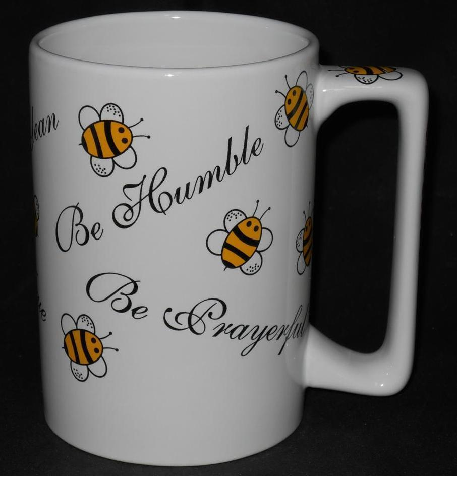 Primary image for Grandma Bee ~ Coffee Cup Mug ~ Be Humble Prayerful Clean True Grateful Smart