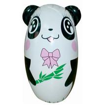 Inflatable Tumbler Toy Children   girl panda - $30.99