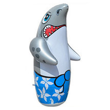 Inflatable Toy 90cm Large Tumbler Thick Cartoon    shark - $26.99
