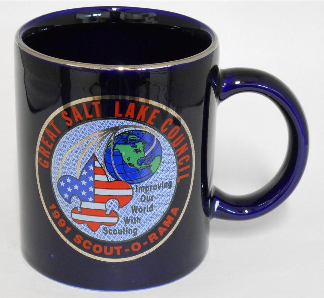 Primary image for Great Salt Lake Council ~ 1991 Scout -O- Rama Coffee Cup Mug ~ Boy Scouts