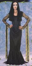 MORTICIA ADULT COSTUME THE NEW ADDAMS FAMILY MEDIUM - $42.00